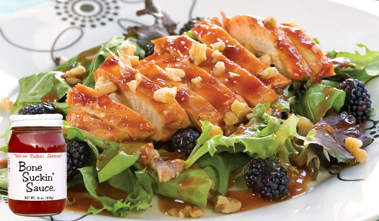 Bone Suckin' Blackberry Chicken Salad